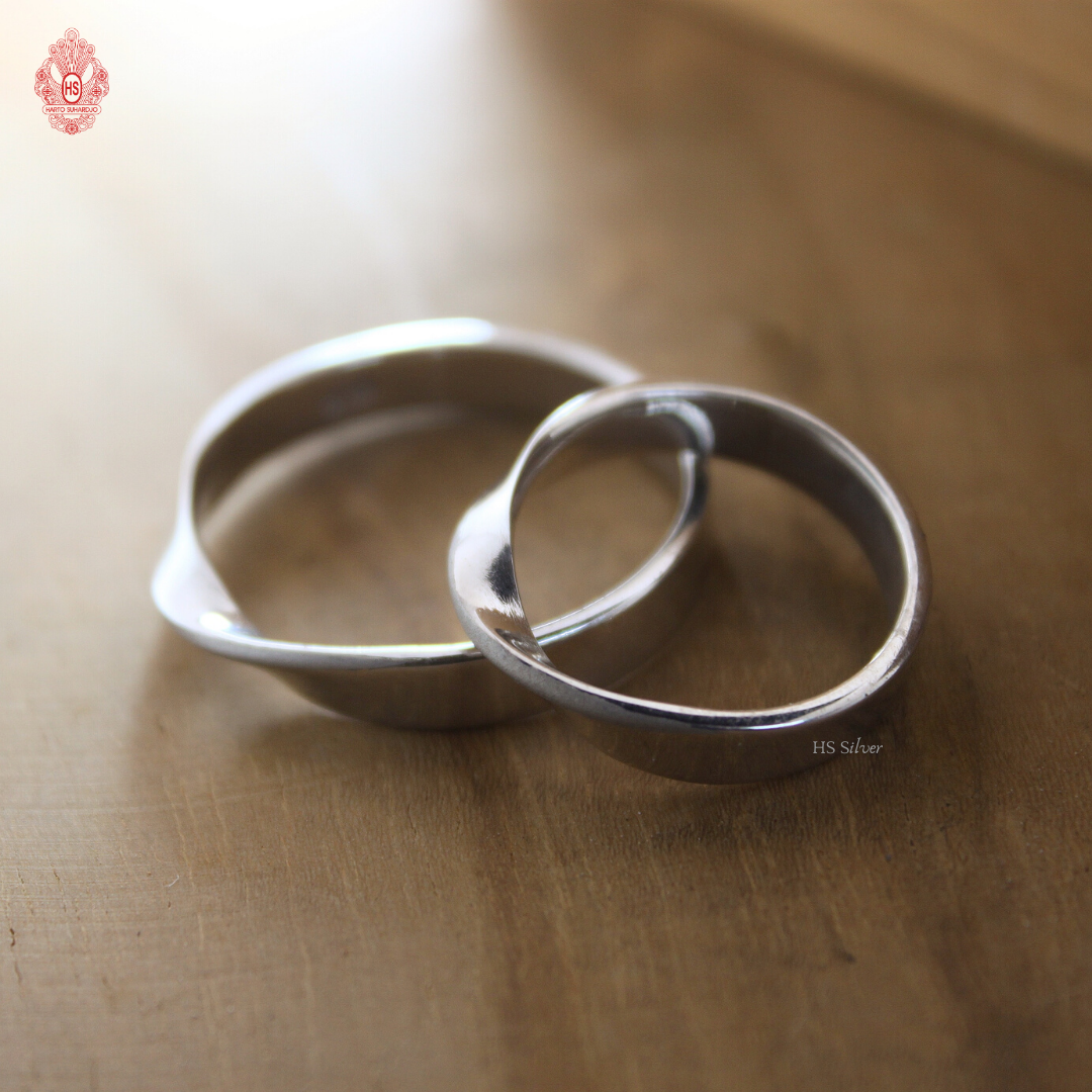 INFINITY COUPLE RING